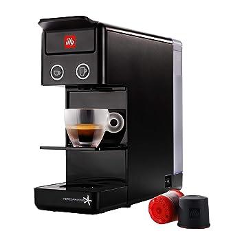 Illy Caffè Espresso und Coffee cáfetera y3 Iperespresso, 850 W, 0.75 litros, plástico, Negro: Amazon.es: Hogar