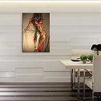 XIAOXINYUAN 100% Dipinto A Mano Arte Del Corpo Nudo Pittura A Olio Astratta Arte Moderna Parete Pittura Per Soggiorno Home Decor