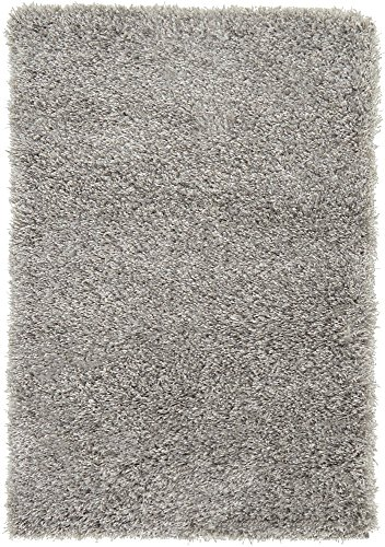 - Unique Loom Luxe Solo Collection Plush Modern Gray Area Rug (2' 2 x 3' 0)