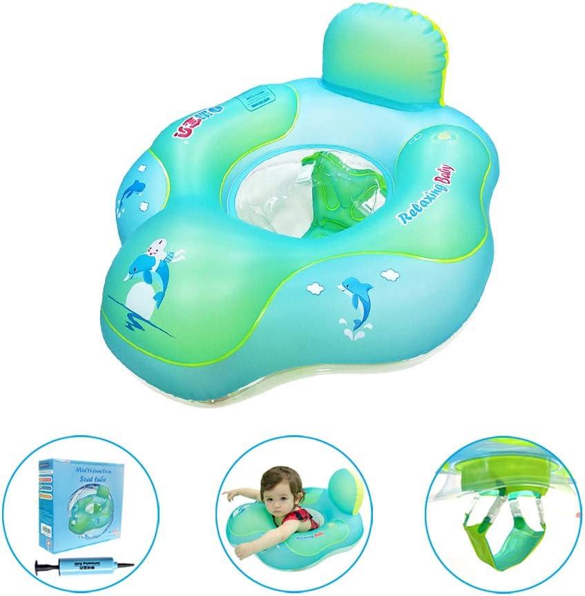 Adjustable Swim Aid relaxing baby Swim Ring Baby Float Children from 9 M to 3 Years /… Baby Swim Swim Seat Toddlers