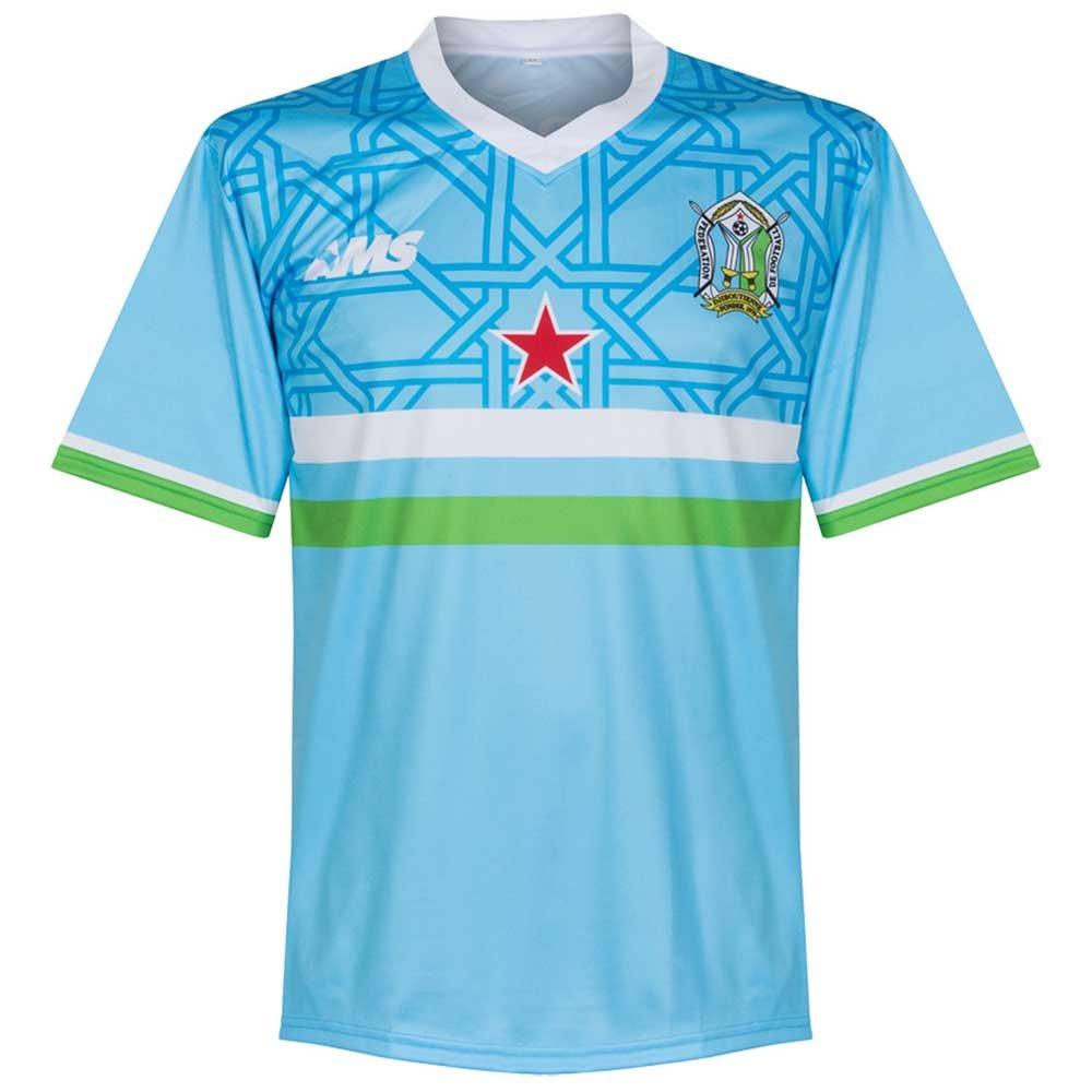 AMS 2017-2018 Djibouti Home Football Soccer T-Shirt Trikot