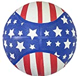 9.5'' STARS AND STRIPES REG BASKETBALL, Case of 25