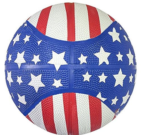 5'' STARS AND STRIPES MICRO BASKETBALL, Case of 50 by DollarItemDirect (Image #2)
