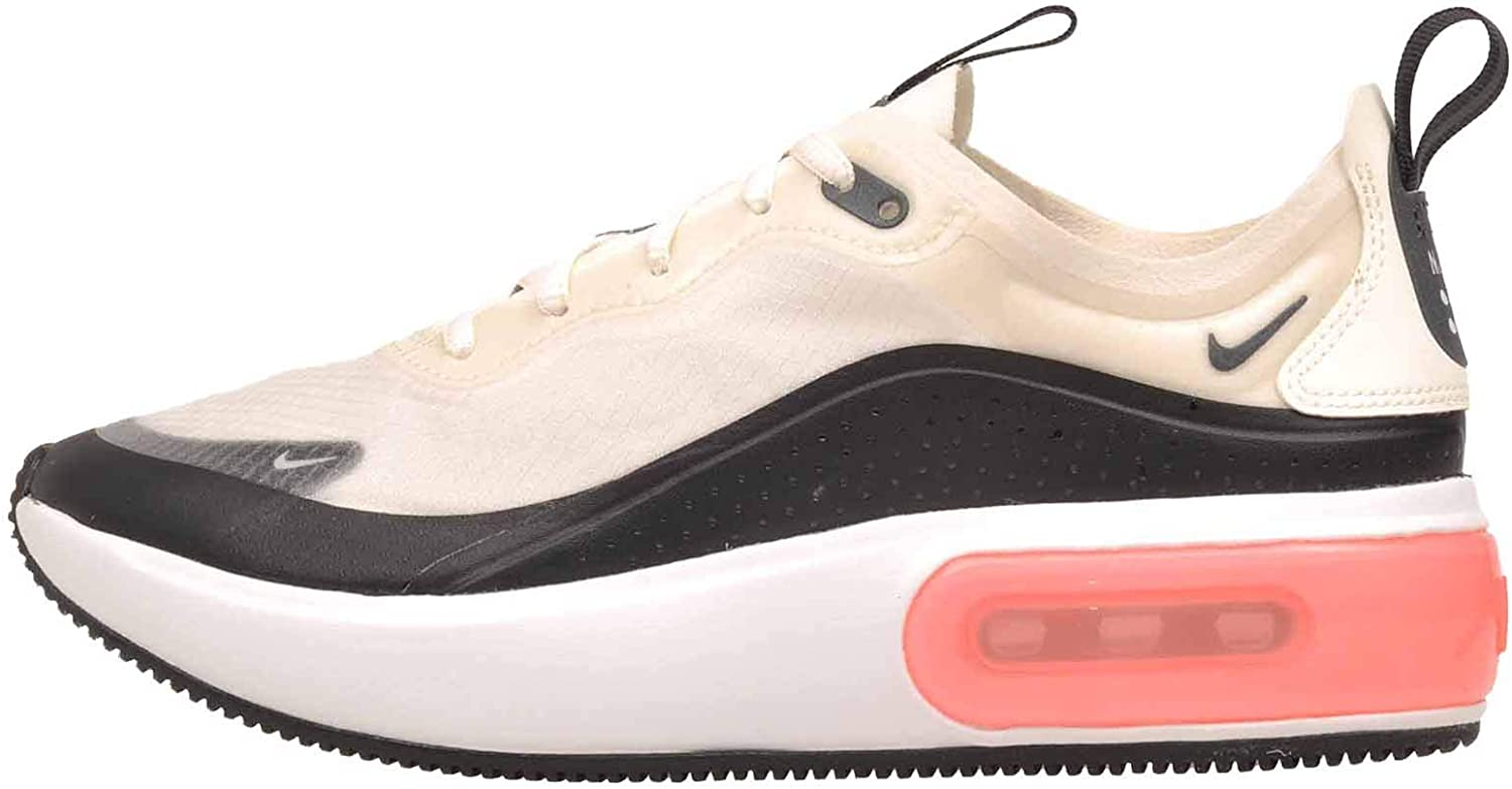 Nike Womens Air Max Dia Se Fabric Low Top Lace Up Fashion, Beige, Size 9.0