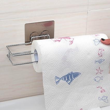 NUANZ la aspiración del papel perforado de toallas de papel de cocina, estantes Estantería Racks