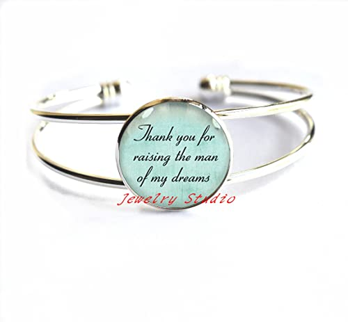 charming fashion braceletquote bracelets bracelet gift for mother in law bracelet thank you for