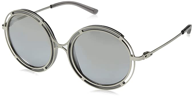 9abf2313ca Image Unavailable. Image not available for. Color  Ralph by Ralph Lauren  Women s Metal Woman Sunglass Non-Polarized Iridium Round ...