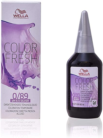 WELLA Color Fresh Tinte Tono 0/89 Silver - 75 ml
