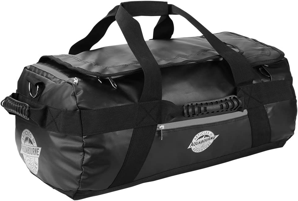 Aquabourne Tasman Mochila / Bolsa Bolsa para el gimnasio 44 Litros 55x35x25cm (Negro)