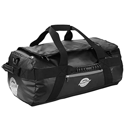5602972bf340 Aquabourne Tasman Waterproof Backpack Sports Duffel Holdall Gym and Travel  Bag 38 Litre 55x35x25  Amazon.co.uk  Luggage