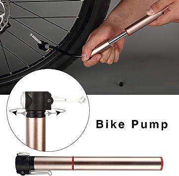 jinclonder Bomba de Bicicleta, neumático portátil de Alta presión ...