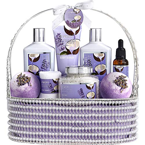 Christmas Home Spa Gift Baskets for Women & Men -