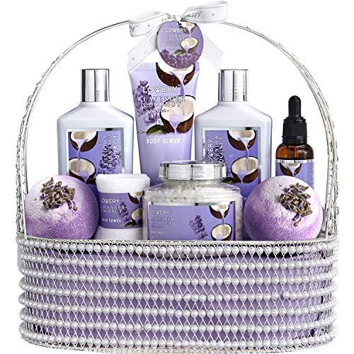 Christmas Home Spa Gift Baskets for Women & Men -