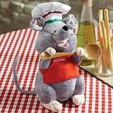 "Cuddle Barn Chef Luigi Animated Singing and Dancing Plush - 12"""