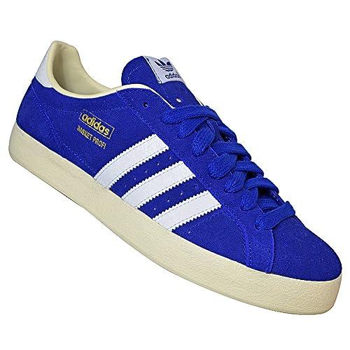 best sneakers 3ae00 d4cbd ADIDAS Basket Profi LO ORIGINALS Sneaker Trainer Men, tamaño de zapatoeur  43farbeBlau Amazon.es Zapatos y complementos