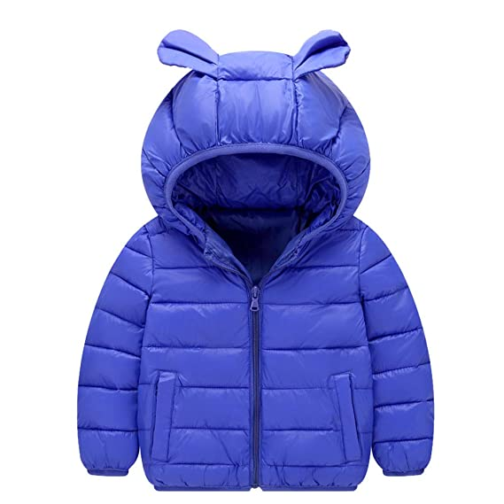 K-Youth Niños Abrigo de Algodón Invierno Grueso Abajo Chaqueta con Capucha Trenca Abrigo para Niñas Ropa Niño Abrigo Bebe Niña Otoño Jacket Parka para ...