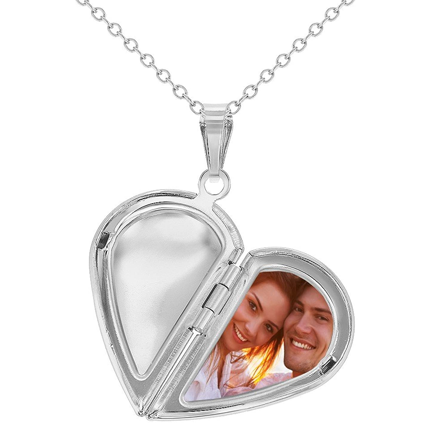 in free sterling use half necklace personal at silver getdrawings heart drawing com locket for children lockets