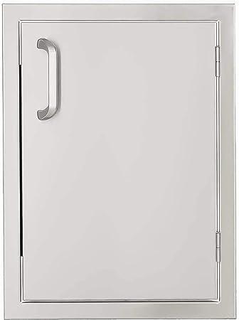 Amazon Com Bbqguys Signature Series 14 Inch Stainless Steel Right Hinged Single Access Door Vertical Outdoor Kitchen Access Doors Garden Outdoor