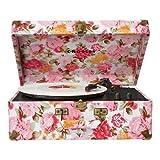 Crosley Radio Keepsake Portable Turntable - Floral (CR6249A-FL)