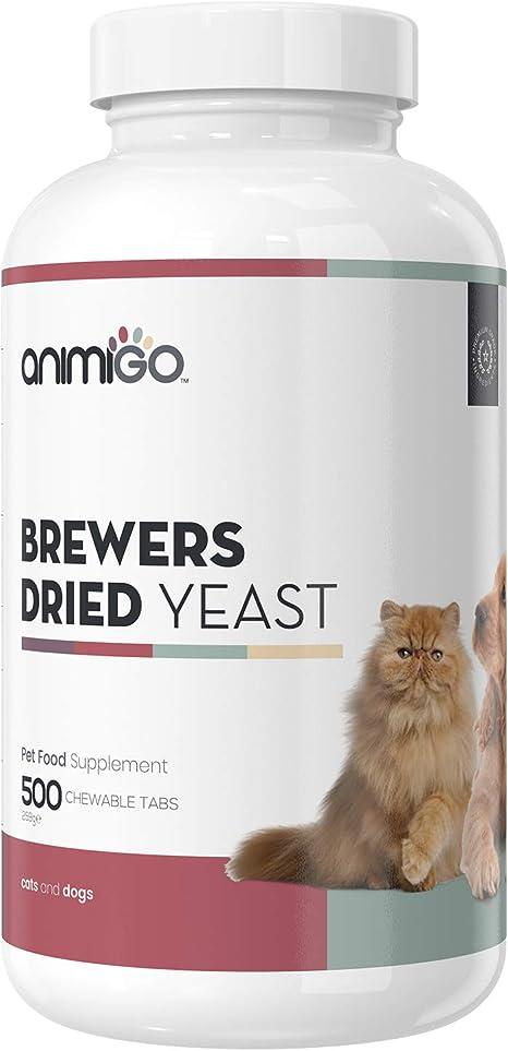 Animigo Pastillas de Levadura de Cerveza para Perros y Gatos ...