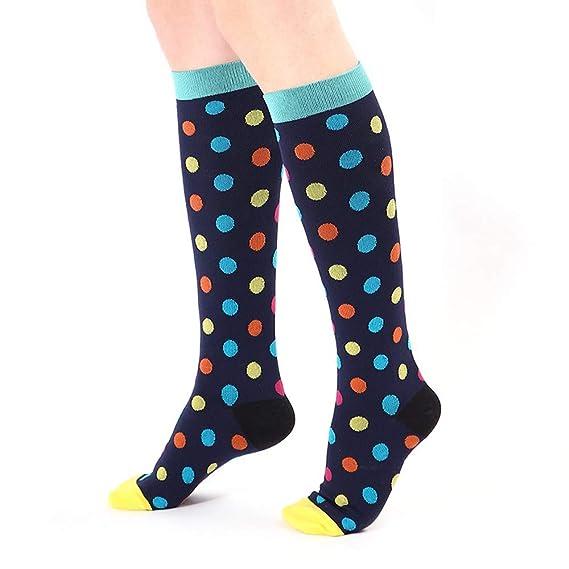 Sylar Calcetines Larga Mujer Deportivos Barato Grueso Suave Casual Impresión Geométrica Calcetines Lindo Cómodos Caliente Deporte Calcetines: Amazon.es: ...