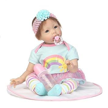 Doll Realista Reborn Bebé Muñeca Silicona Paño Cuerpo Imán ...