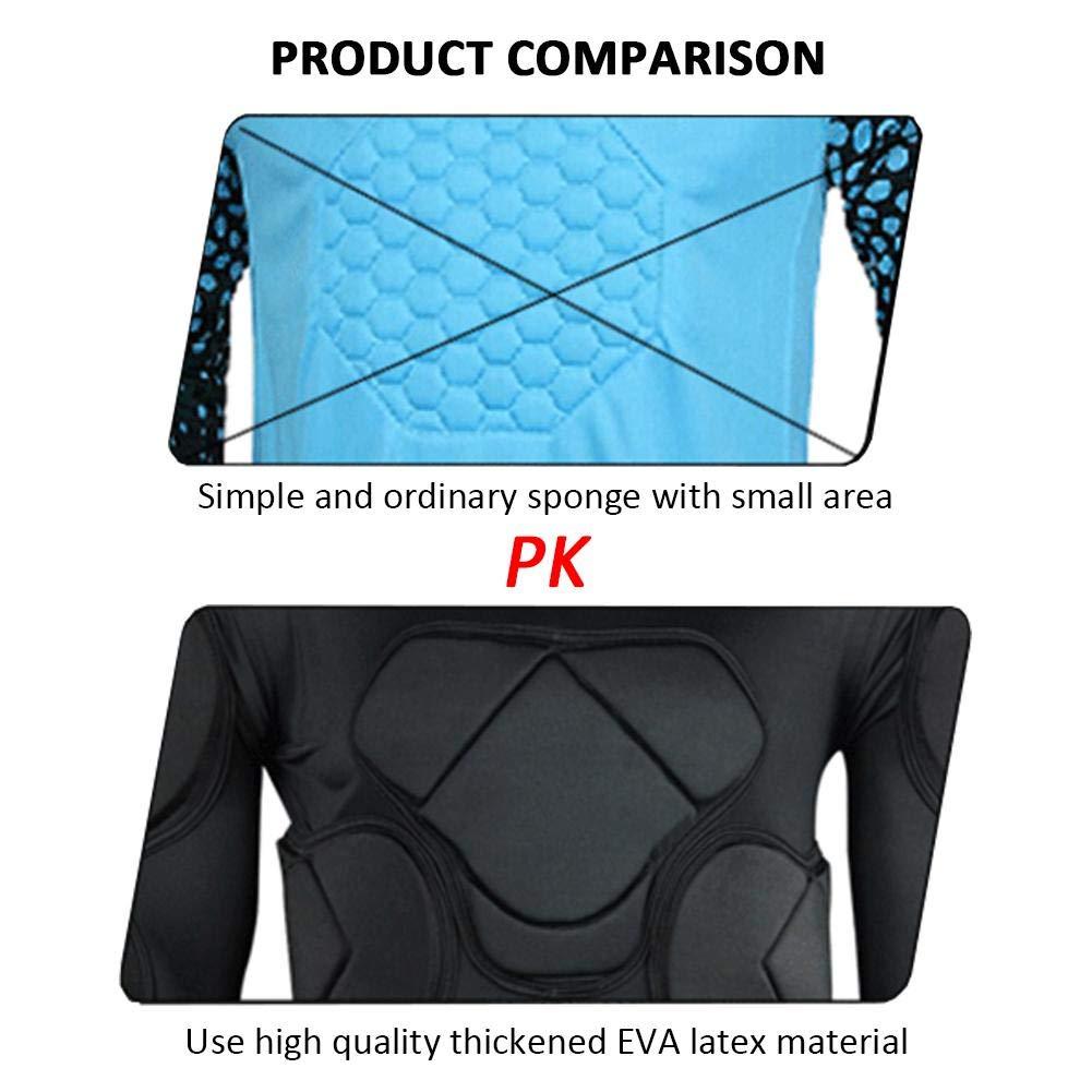 Per Newly Soccer Goalkeeper Long Sleeves Football Jacket Goalie Goal Long Sleeve Shirt