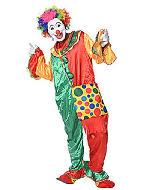 3581f314c37c Matissa Costumi da Clown pagliacci per Adulti Accessori da Uomo e da Donna  Clown (Clown