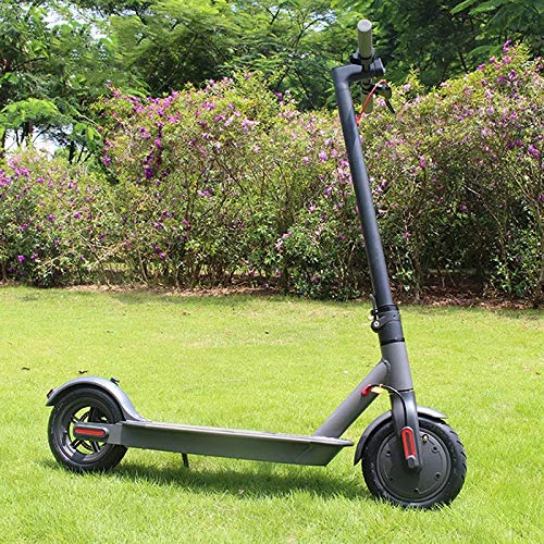 Mile Intelligent Electric Scooter, 18.6mi Long-Range Battery & Up to 15.5 MPH /8.5' Wear Resistant Tires - Top Version - (APP Riding Monitoring) - Ultralight and Foldable Adult Electric Scooter