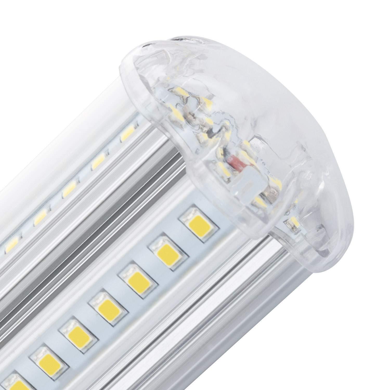 Lámpara LED Alumbrado Público Corn E27 10W Blanco Frío 6000K efectoLED: Amazon.es: Iluminación