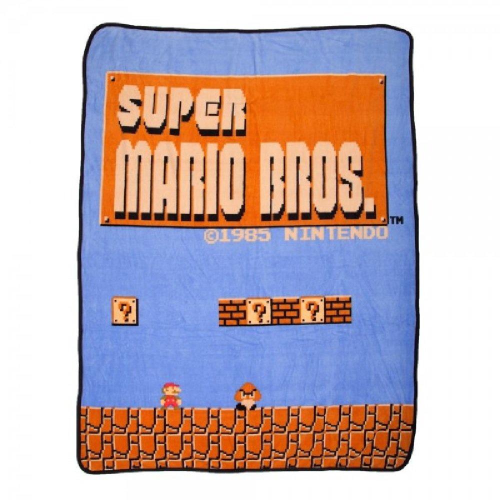 NintendoスーパーマリオNES Super Plush Throw Blanket B01LRBMXUK
