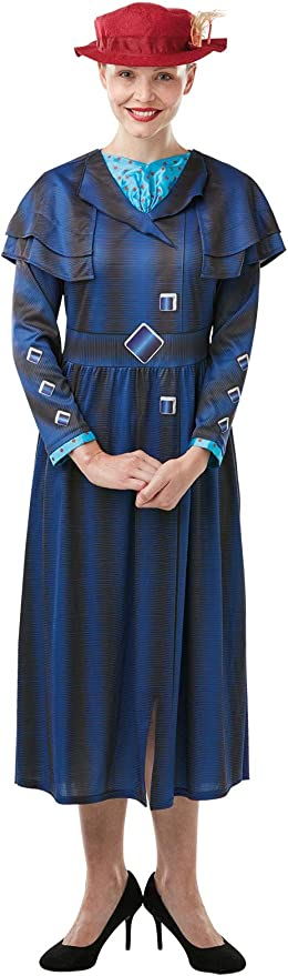 Girls Size Medium Age 5-6 Years Childs Book Week Character Rubies Official Disney Mary Poppins Returns Movie Costume