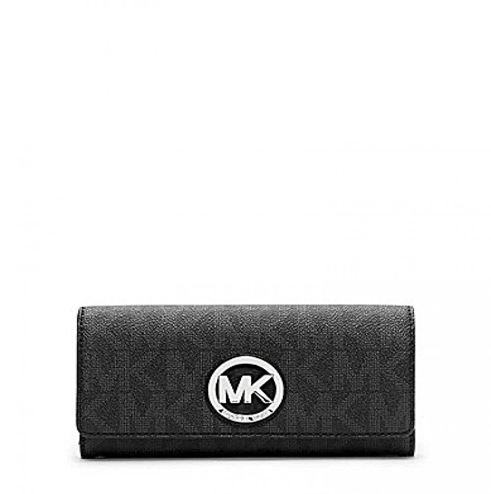 0a80f485557600 Top12: Michael Michael Kors Womens Fulton Carryall Wallet. Wholesale  Price:118.00. MK signature PVC Snap closure 10 credit ...