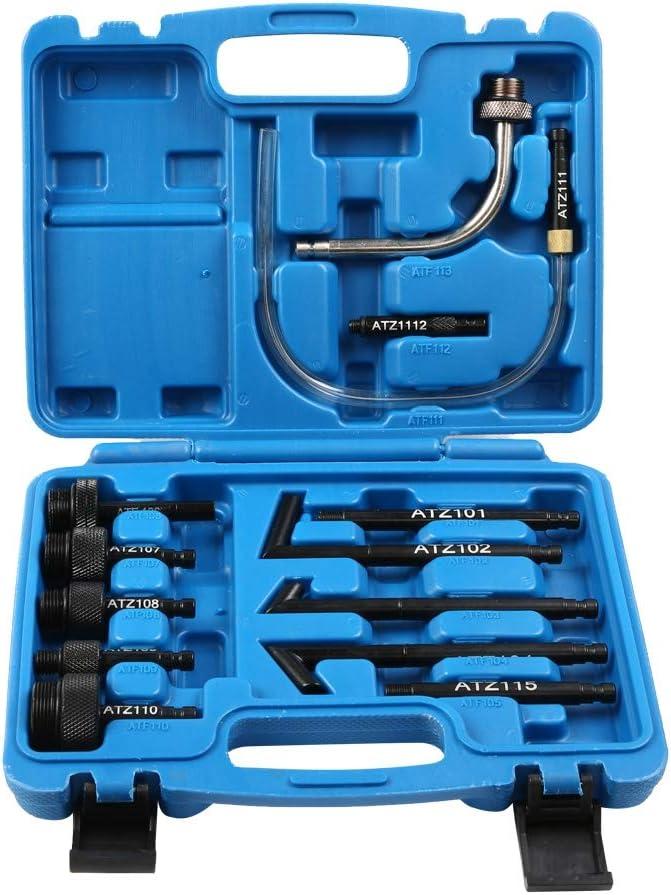 Pompa riempita sistema di trasmissione manuale 7,5 l erogatore di olio pompa estrattore olio erogatore con 15 adattatori