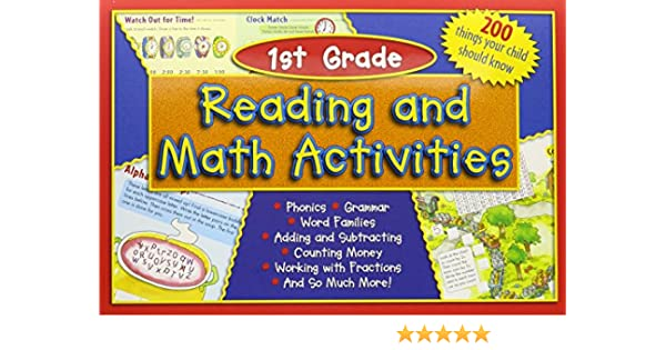 Reading and Math Activities, 1st Grade: Natalie Goldstein, Michele ...