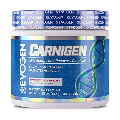 Evogen Carnigen | Fat Burning Carnitine Powder | Raspberry Lemonade | 90 Servings by Evogen Nutrition
