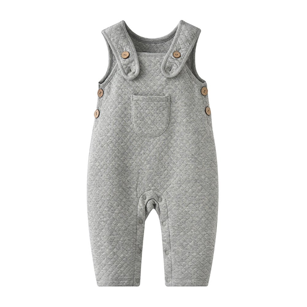 New 2018 Baby Overalls Fashion Infant Baby One Pieces Jumpsuits Cotton Boys Clothes
