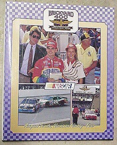 Nascar Brickyard 400 Indianapolis Motor Speedway Inaugural Race Commemorative Book August Sixth, Nineteen Ninety-Four (Race Inaugural)