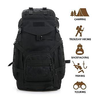 Amazon.com : Hisea Rucksacks Military Tactical Backpack Waterproof ...