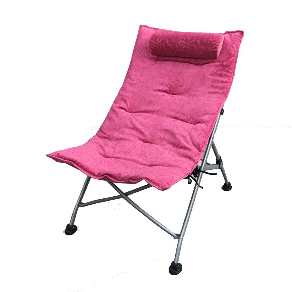 L&J 折りたたみ椅子,アウトドアチェア プールラウンジャー アウトドアチェア お釣り 庭 パティオ ビーチ プール 花火大会 キャンプ スポーツ観戦 丈夫 耐荷重100kg 調節できる 快適 持ち運び楽  A B07B7K8ZYF