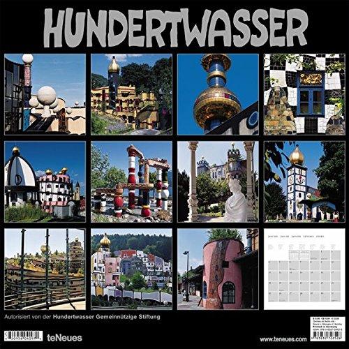2009 Hundertwasser Architecture Wall Calendar