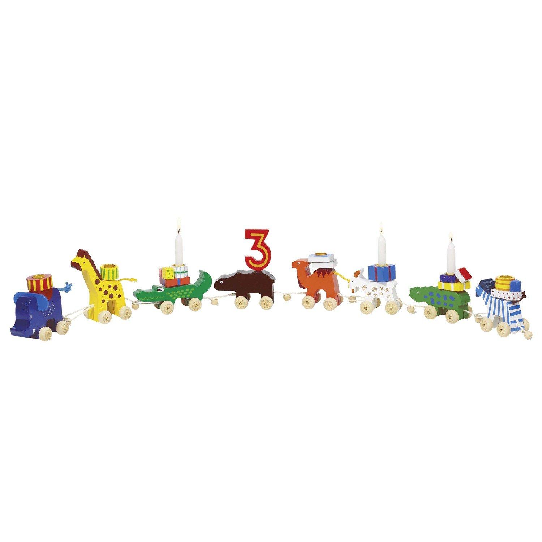 Goki Tren de cumpleaños de cumpleaños del Safari: Amazon.es ...