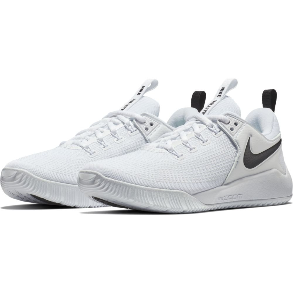sports shoes e2c17 cc3a4 Galleon - NIKE Women s Air Zoom Hyperace 2 Shoes, White Black, 10.5 B US