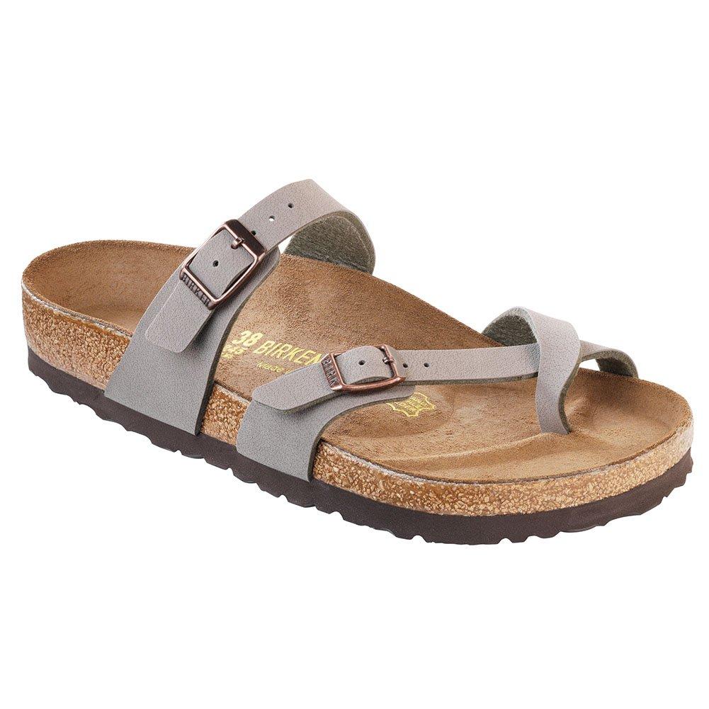pas cher pour réduction 0222b f8ee6 Birkenstock New Mayari Stone Birkibuc 35/4-4.4 R Womens Sandals