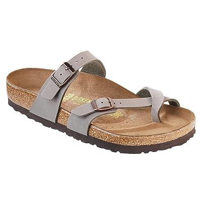 daaab9295b Birkenstock New Mayari Stone Birkibuc 35/4-4.4 R Womens Sandals