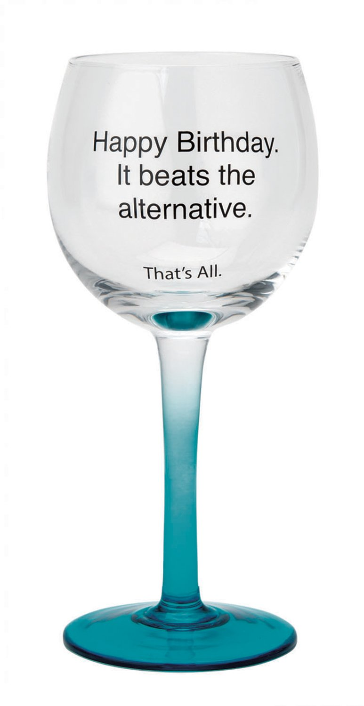 12-Ounces Prince Charming SB Design Studio WIN28-2610Q Thats All Stemmed Wine Glass