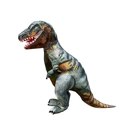 CLCYL Traje Inflable de Dinosaurio Infantil Traje de Dinosaurio ...
