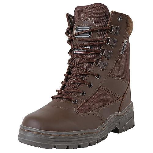 Zapatos marrones Kombat Uk para hombre yElnPPwyHP