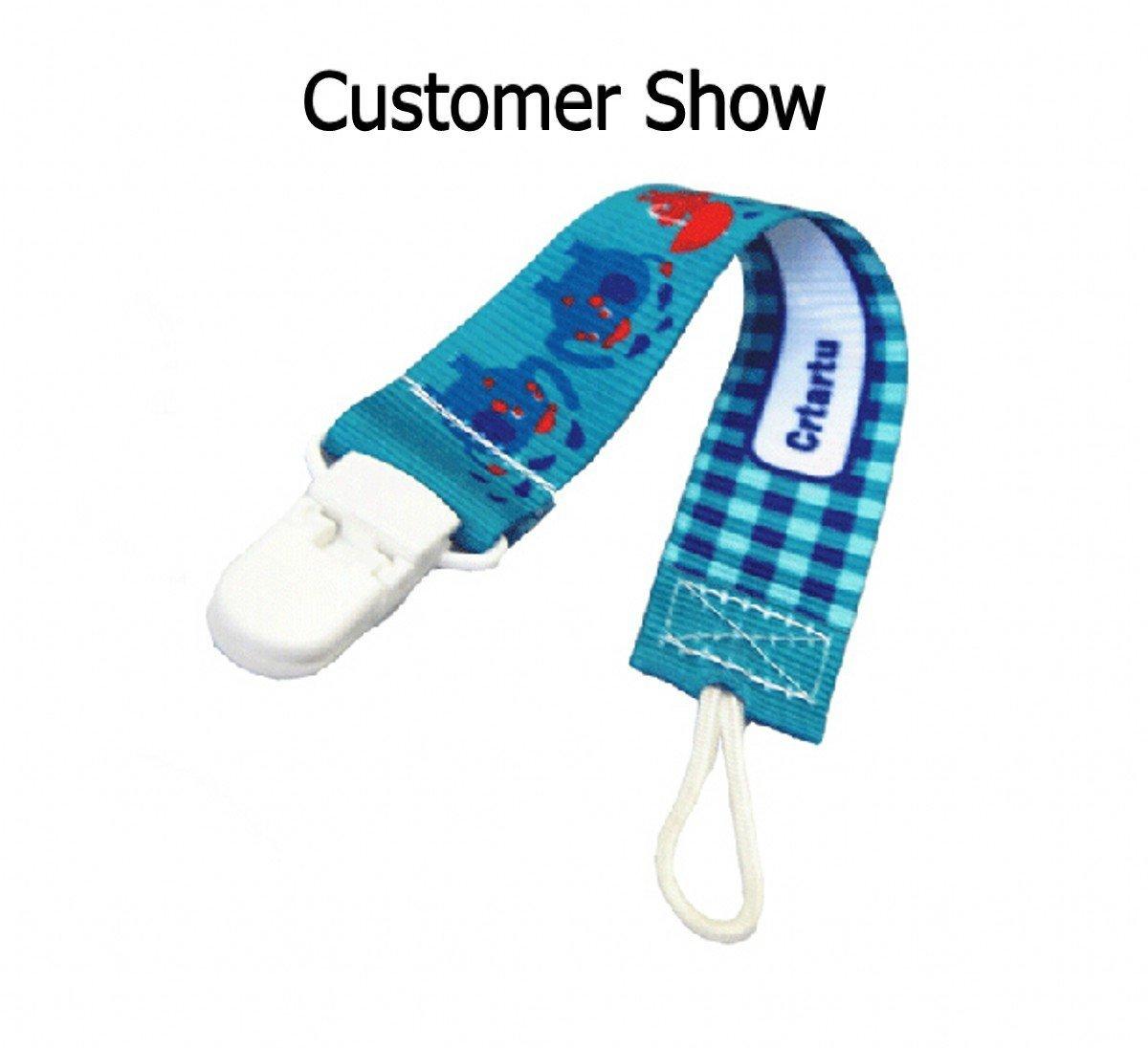 /Blanc Chengyida 10/pcs KAM 20/mm pour b/éb/és badge T Plastique Clips Bavoir support/