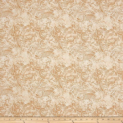 - Wilmington Prints Essential Dotty Waves 108in Wide Quilt Back Ivory Fabric By The Yard